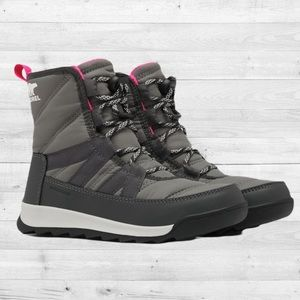 Sorel Girl's Whitney II Short Lace Up Winter Boots (Big Kids)